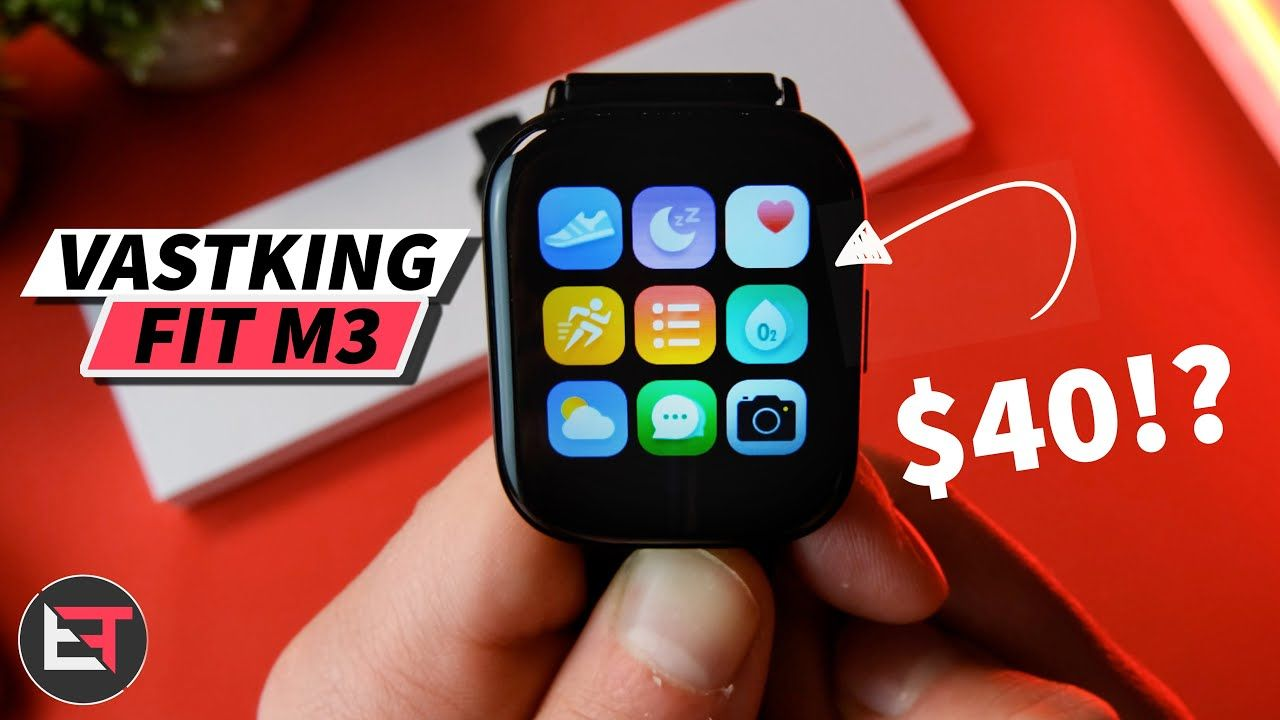 Vastking Fit M3 Budget Smartwatch Review Unboxing & Accuracy test!