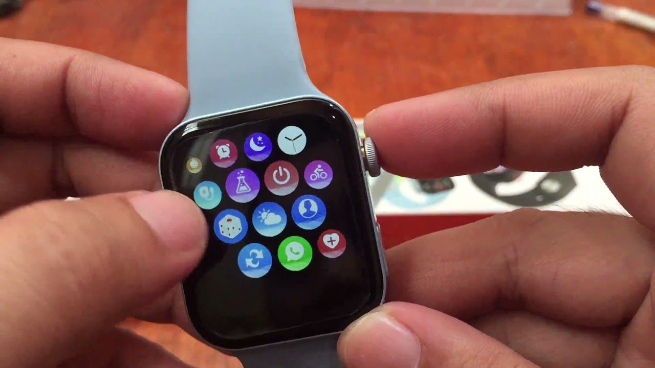 T100 Plus Smartwatch UI Review -Menus and Features