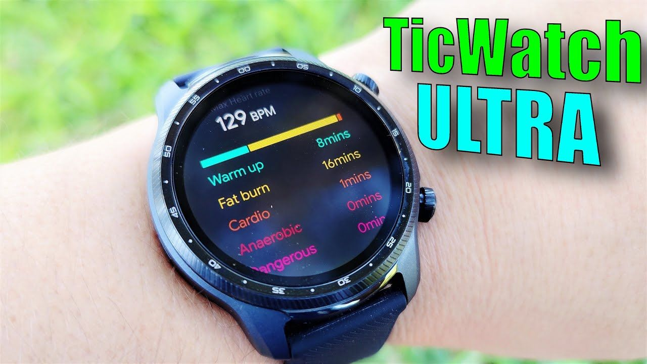 TicWatch Pro 3 Ultra WearOS Smartwatch Review: 3 Day Battery! Now with AFib Detection!