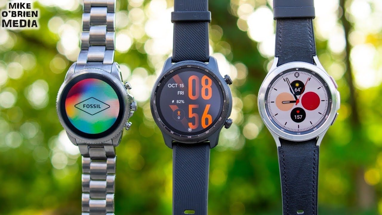 BEST SMARTWATCH for ANDROID (Galaxy Watch 4 vs Fossil Gen 6 vs TicWatch Pro 3 Ultra)
