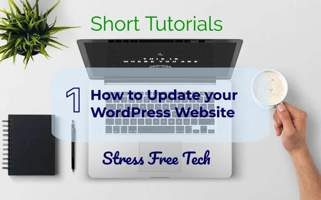 stress free tech tutorial