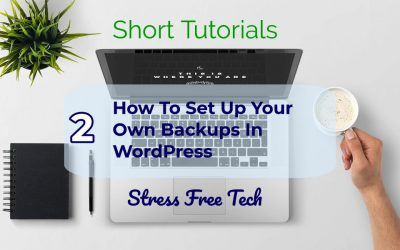 How to set backups for your WordPress website