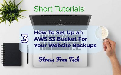 How to set up storage for your website backups