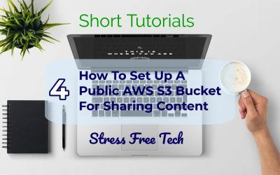 How to set up shared storage in AWS S3