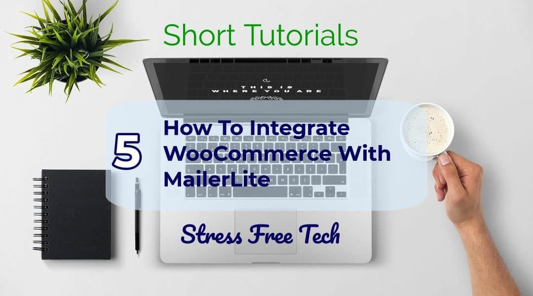how to integrate WooCommerce and MailerLite