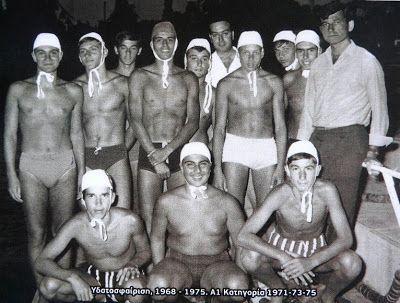 Η ιστορική φουρνιά των κολυμβητών-υδατοσφαιριστών του ΝΑΟΚ συναντιέται ξανά με τον Άλκη Καρούλη!