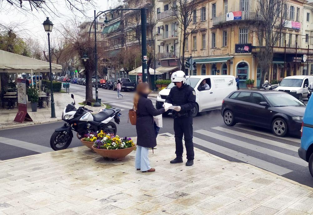 Παραβάσεις άσκοπης κυκλοφορίας στην Κέρκυρα: 51 σε πεζούς, 39 σε οδηγούς