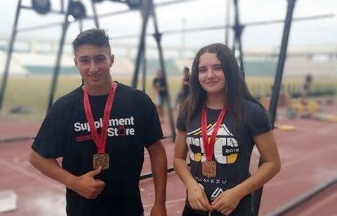 Χρυσά η Κ. Χονδρογιάννη και Β. Καλούδης στους Πανελληνίους CrossFit στον Βόλο