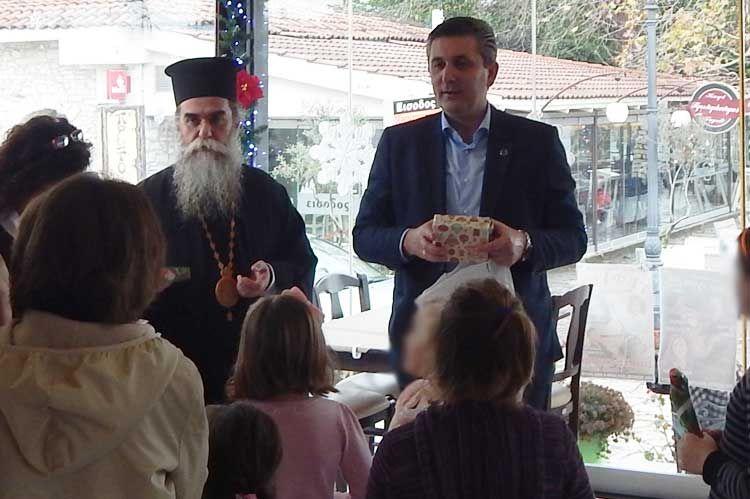 Γεύμα αγάπης για 40 άπορες οικογένειες στην Άρτα