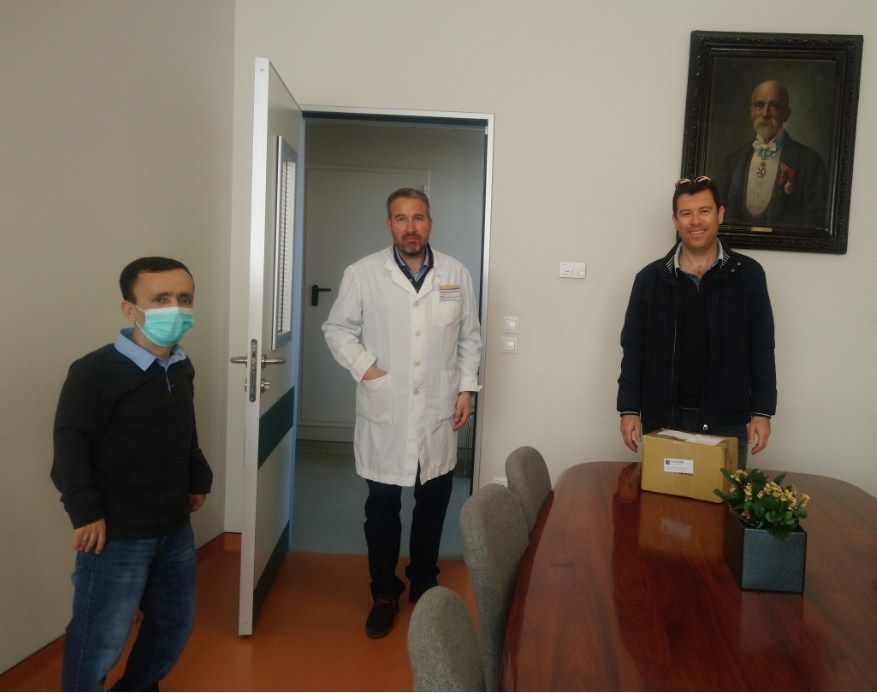AHEPA Corfu donates personal protection equipment to Corfu Hospital