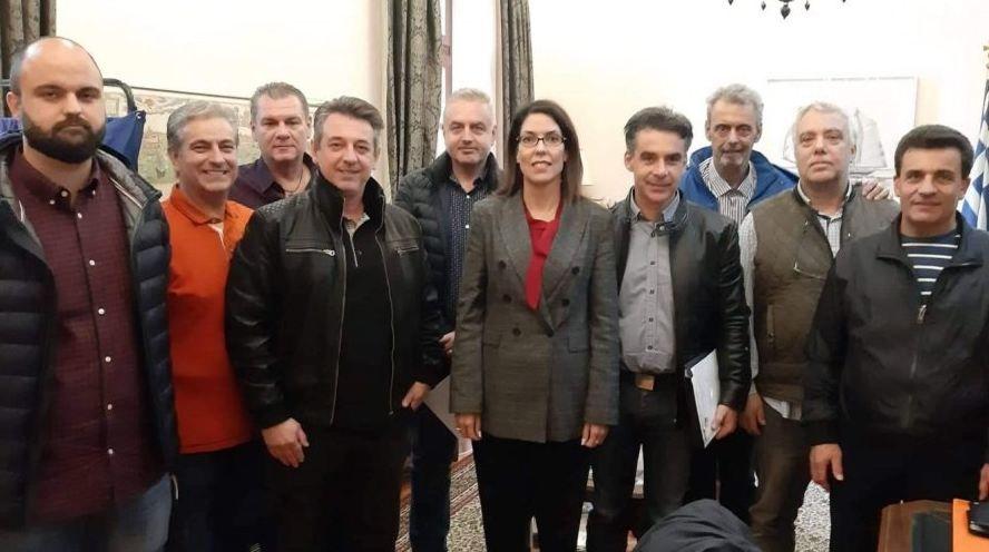 Κλίμα συνεργασίας μεταξύ Υδραίου και Εμπορικού Συλλόγου Κέρκυρας