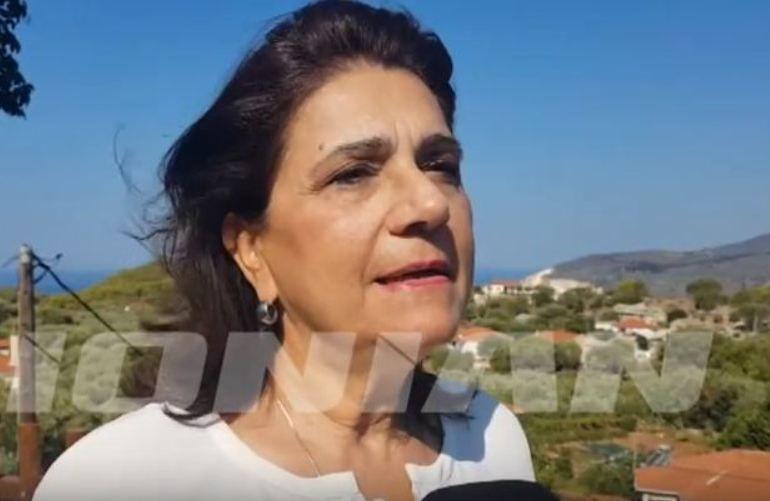 Η Ρόδη Κράτσα για την πυρκαγιά στη Ζάκυνθο (video)