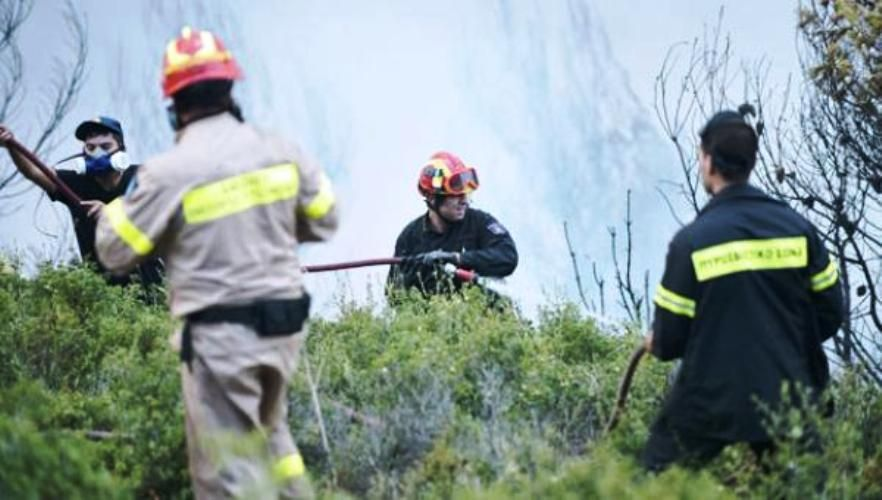 Fire in Argyrades quickly put out