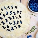 The Hirshon Blueberry Thyme Pie of Pi