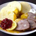 The Hirshon Czech Braised Beef in Spiced Cream Sauce with Bread Dumplings - Svíčková na Smetaně