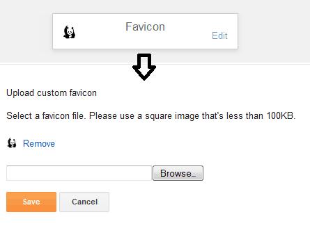 Blogger Favicon