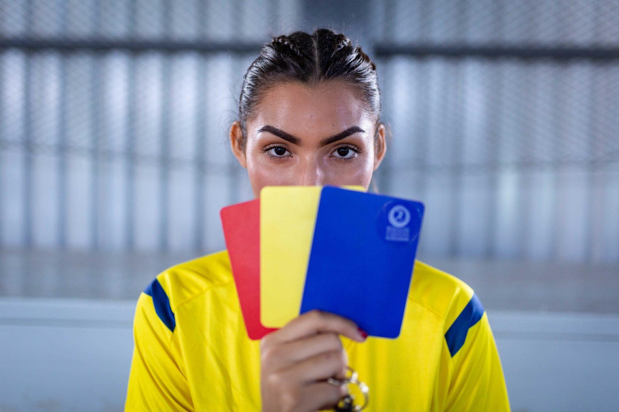 Arianna, referee handball girl