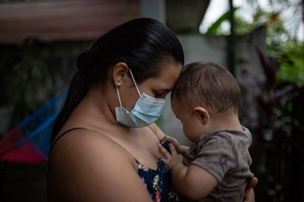Día de la madre Pandemia Covid Mascarilla