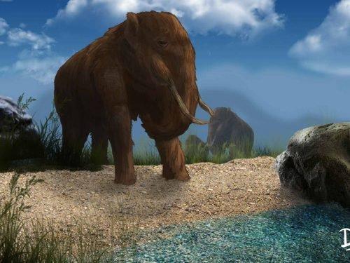 Mastodonte Megafauna