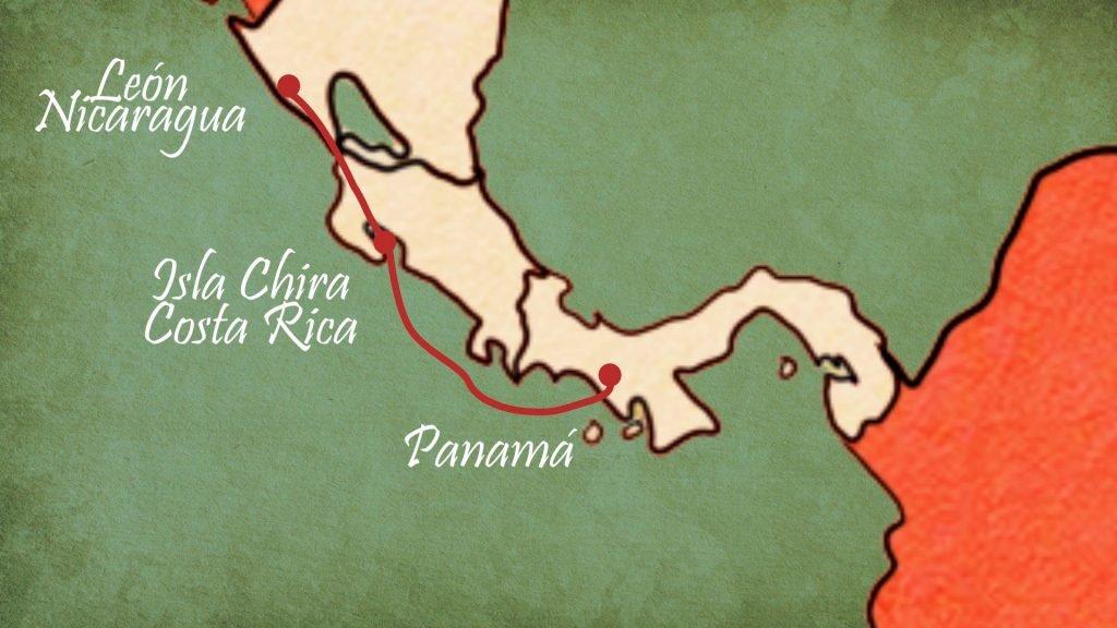 Chorotegas Esclavizados Panama Peru Ilustración